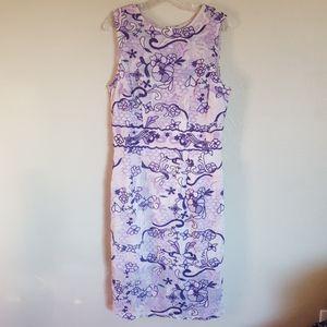 NWT Eva Mendes Marzia Embroidered Dress